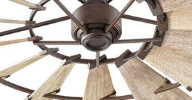 Quorum Windmill DCmotor Ceiling Fan