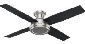 Hunter Hunter Dempsey  Hugger Ceiling Fan