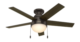Hunter Anslee Low Profile Ceiling Fan